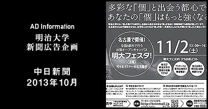 中日新聞2013年10月 掲載
