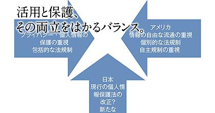 活用と保護、その両立をはかるバランス – 日本社会に合ったプライバシー・個人情報保護の方針を定め、早急に世界に打ち出すことが大切です –