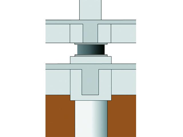 図1 建物基礎と免震支承