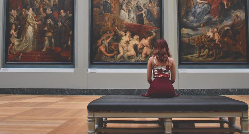 博物館や美術館には、新たな発見や不思議な出会いが満ちている