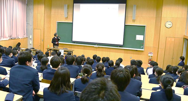 【明治大学特別授業】高校生が大学の専門的な学びを体験